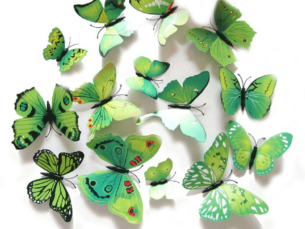 3d Butterfly S Decoration On The Wall 12 Pieces With Free Shipping Consignmenter Uk